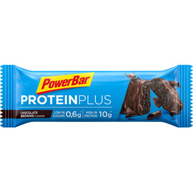 PowerBar ProteinPlus Low Sugar Urheiluravinto Chocolate Brownie 30 x 35g